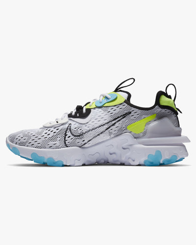 Nike React Vision 'Worldwide Pack' - White / Black / Blue Fury / Volt Nike Trainers