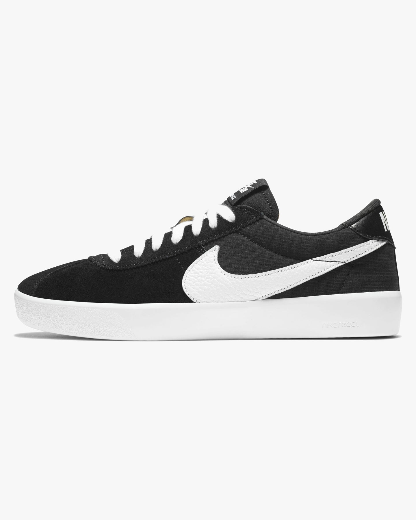 Nike SB Bruin React - Black / White UK 7 CJ16610017 194276352649 Nike SB Trainers