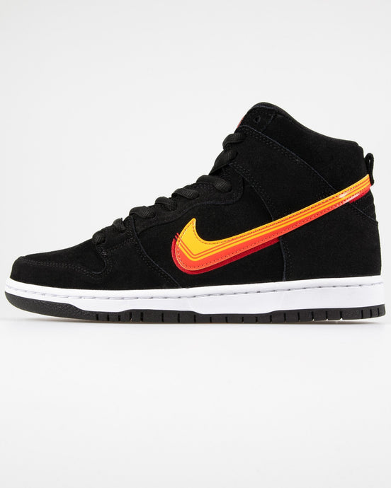 Nike SB Dunk High 'Truck It' - Black / University Gold / Team Orange UK 7 BQ68260037 Nike SB Trainers