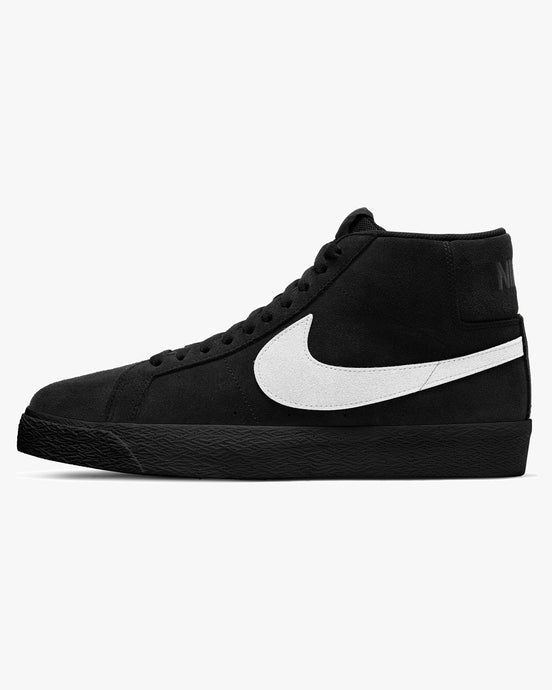 Nike SB Zoom Blazer Mid - Black / White UK 7 864349-0077 Nike SB Trainers