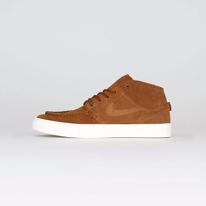 Nike SB Zoom Janoski Mid RM Crafted - Light British Tan / Pale Ivory UK 7 AQ74602017 193151605689 Nike SB Trainers