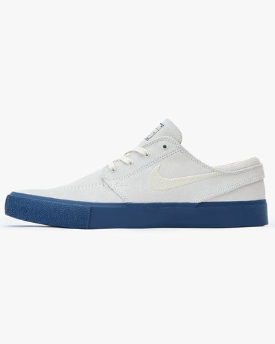 Nike SB Zoom Janoski RM - Summit White / Fossil / Midnight Navy UK 7 AQ74751037 Nike SB Trainers