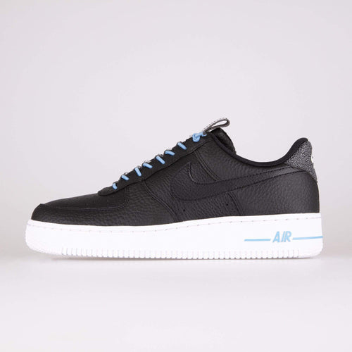 Nike Wmns Air Force 1 '07 Lux - Black / Light Blue / White UK 3 8988890153 193151719645 Nike Trainers