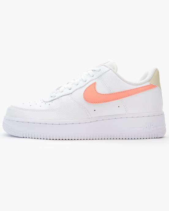 Nike Wmns Air Force 1 '07 - White / Atomic Pink UK 3 3151151573 194493910400 Nike Trainers