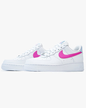 Nike Wmns Air Force 1 '07 - White / Hydrogen Blue / Fire Pink Nike Trainers