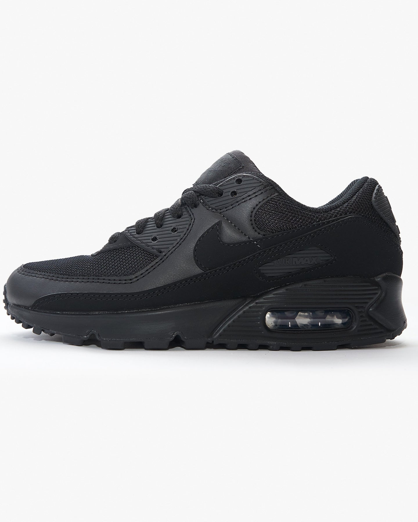 Nike Wmns Air Max 90 - Black / Black UK 3 CQ25600023 193154416954 Nike Trainers