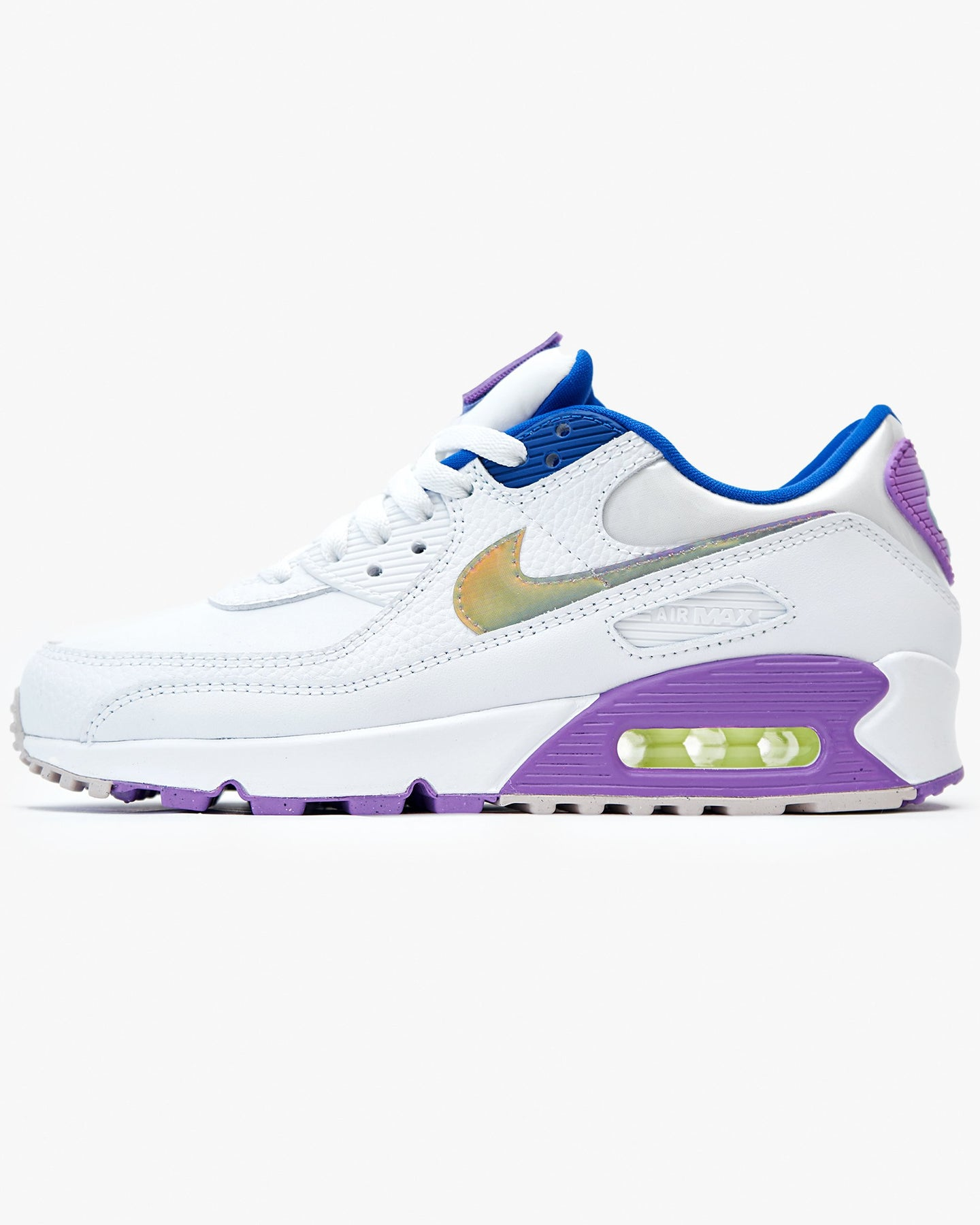 Nike Wmns Air Max 90 SE 'Easter' - White / Purple Nebula / Multi UK 3 CJ06231003 Nike Trainers