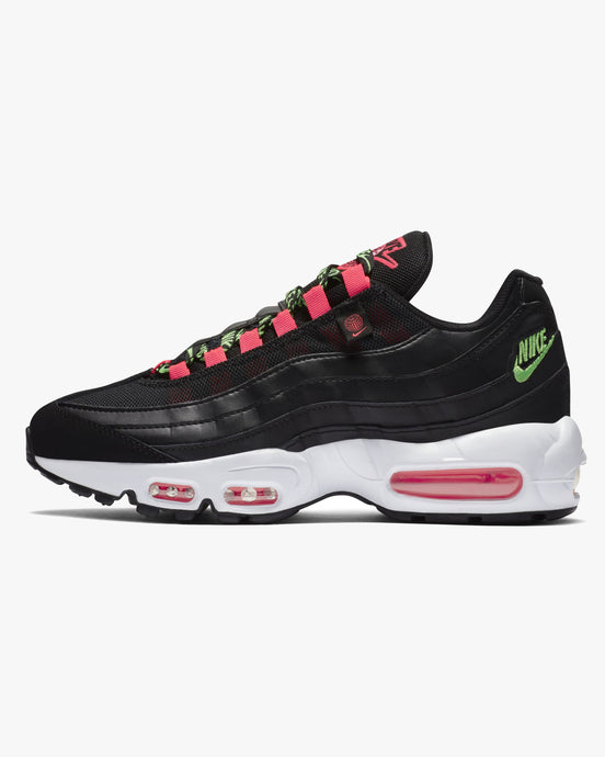 Nike Wmns Air Max 95 SE 'Worldwide' - Black / Green Strike / Flash Crimson UK 3 CV90300013 194493829672 Nike Trainers