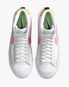 Nike Wmns Blazer Mid '77 Vintage - White / Pure Platinum / Glacier Ice / Pink Glow Nike Trainers
