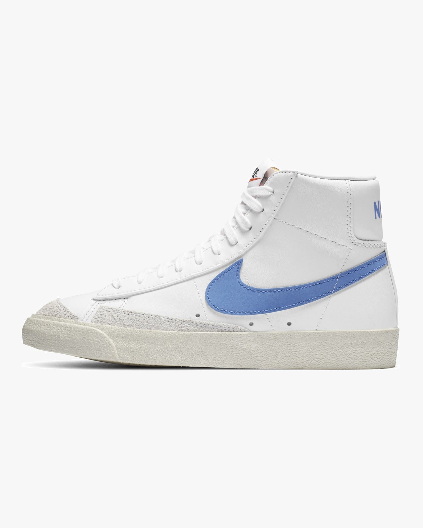 Nike Wmns Blazer Mid '77 Vintage - White / Royal Pulse / Hyper Crimson UK 3 CZ10551113 194499070337 Nike Trainers