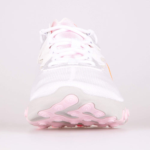 Nike Wmns React Element 55 - White / Digital Pink / Hyper Crimson Nike Trainers