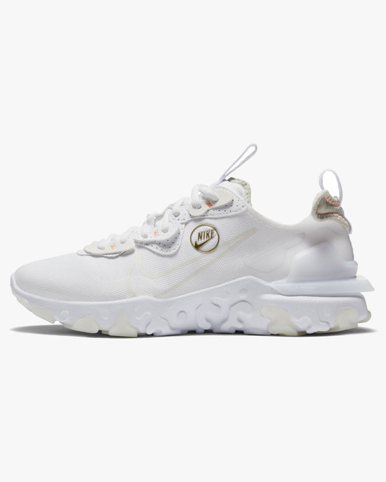 Nike Wmns React Vision - White / Stone / Atomic Pink UK 4 CZ81081004 194497749112 Nike Trainers