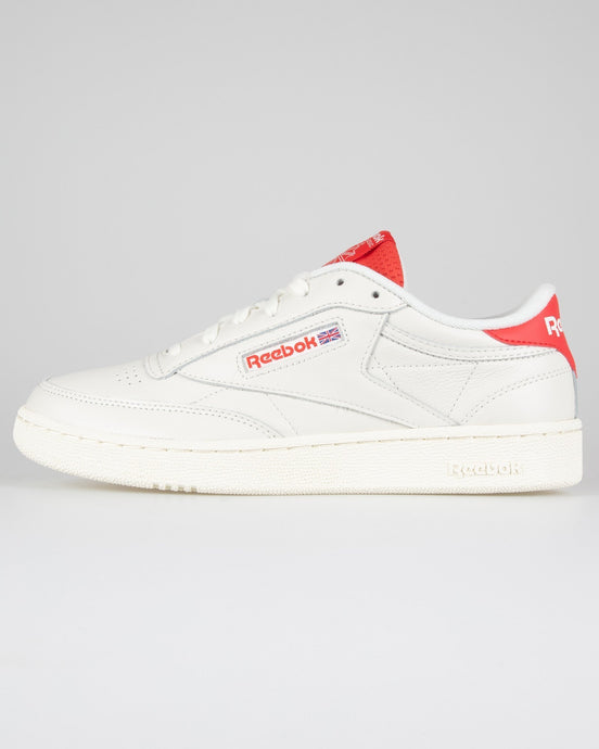 Reebok Classic Club C 85 - Chalk / Radiant Red / Humble Blue UK 7 EF32517 4062053156543 Reebok Classic Trainers