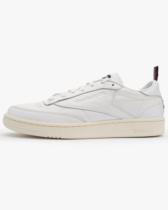 Reebok Classic Club C 85 - White / Chalk / Vector Navy UK 7 FW77987 4051043707308 Reebok Classic Trainers