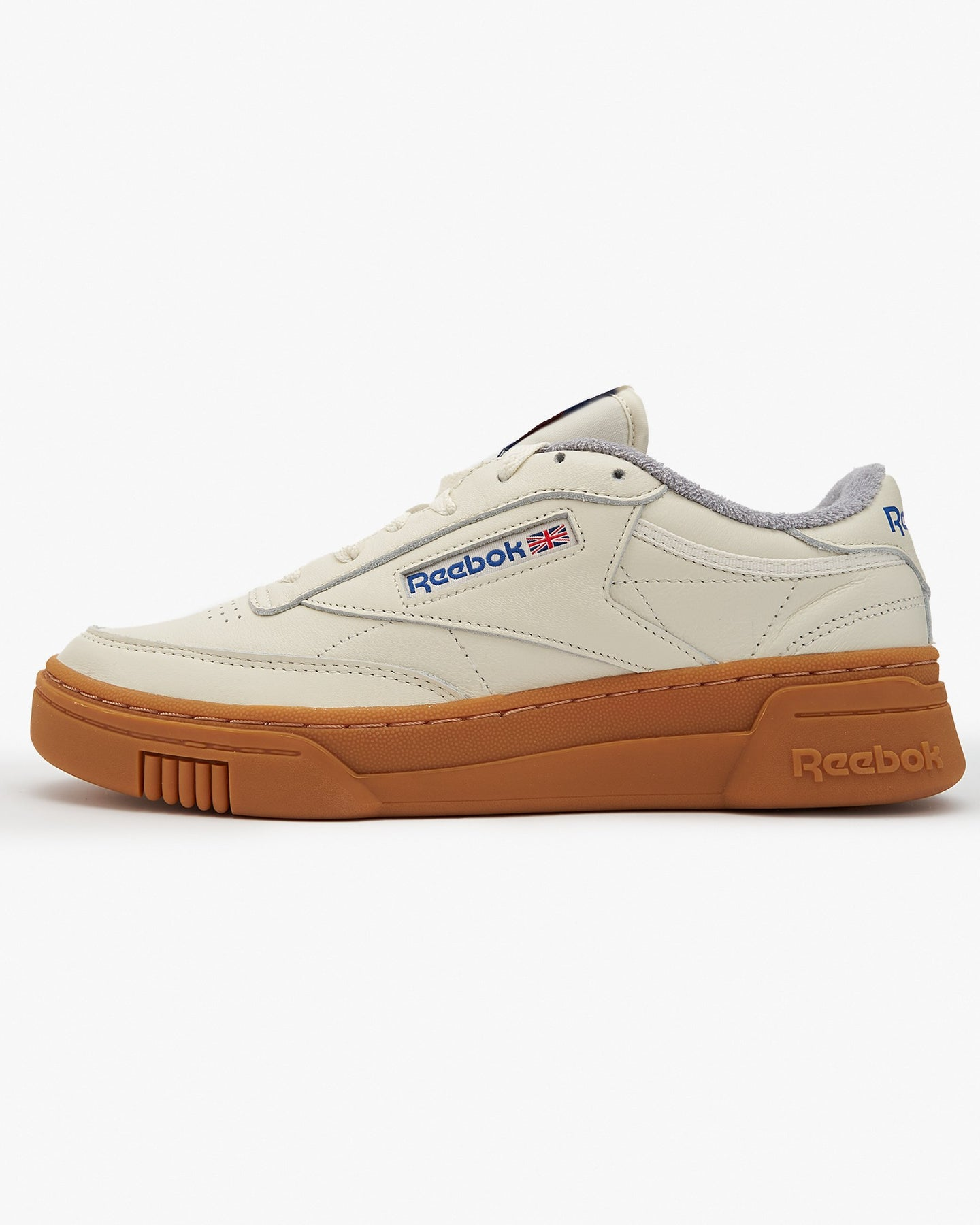 Reebok Classic Club C Stacked - Chalk / Pure Grey 3 / Gum UK 7 FW62517 4062059754125 Reebok Classic Trainers