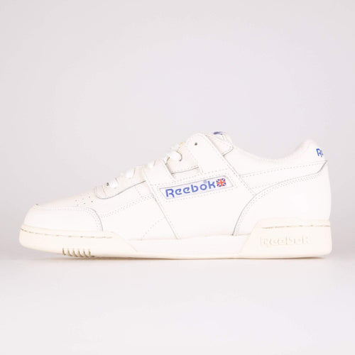 Reebok Classic Workout Plus 1987 TV - Chalk / Paperwhite / Royal UK 7 DV64357 4061617731219 Reebok Classic Trainers