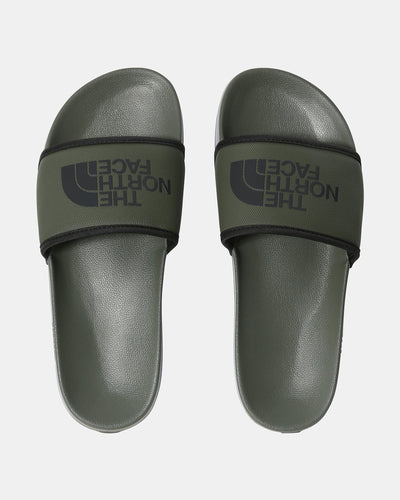 The North Face Base Camp Slides III - New Taupe Green / TNF Black The North Face Flip Flops & Sliders
