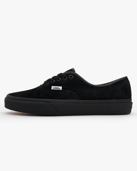 Vans Authentic Pig Suede - Black / Black UK 7 VN0A2Z5I18L7 192825791956 Vans Trainers