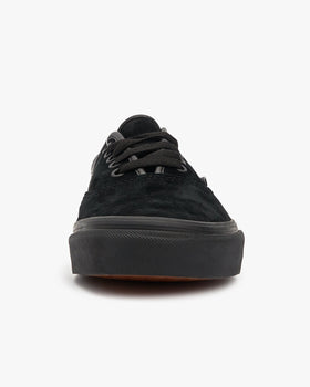 Vans Authentic Pig Suede - Black / Black Vans Trainers