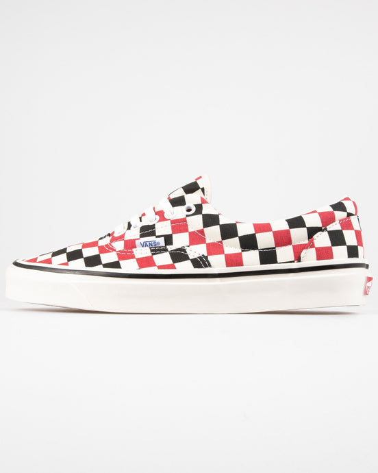 Vans Era 95 DX Anaheim Factory - OG Red / OG Black Check UK 7 VN0A2RR1X7W7 Vans Trainers
