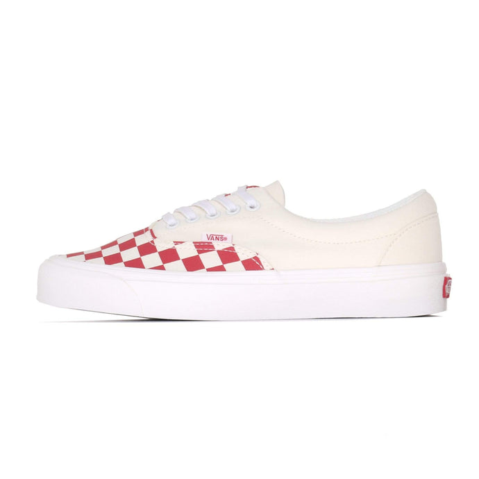 Vans Era CRFT Podium - Checkerboard / Racing Red UK 4.5 VA3WLRVPO145 192828074032 Vans Trainers