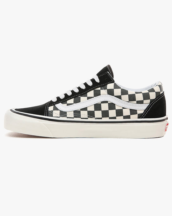 Vans Old Skool 36 DX Anaheim Factory - Black / Checkerboard UK 7 VA38G2OAK7 191167239607 Vans Trainers