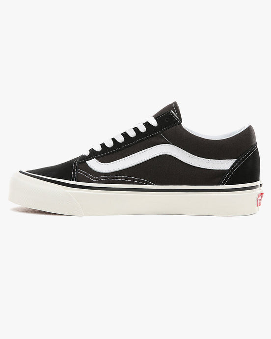 Vans Old Skool 36 DX Anaheim Factory - Black / True White UK 4.5 VA38G2PXC145 191479051003 Vans Trainers