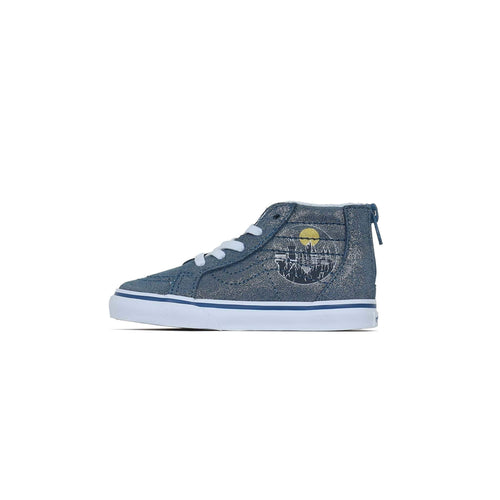 Vans x Harry Potter Toddlers SK8-Hi Zip - Hogwarts / Metallic C4 VN0A4BV1V3R14 193394017805 Vans Trainers
