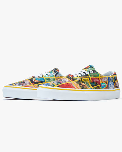 Vans x National Geographic Era - Multi Covers / True White Vans Trainers