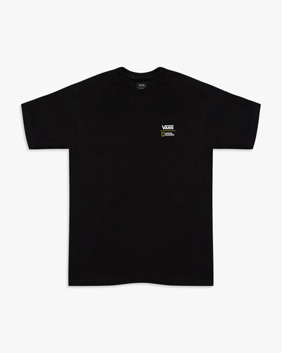 Vans x National Geographic Globe Tee - Black S VN0A4MSHBLKS Vans T Shirts