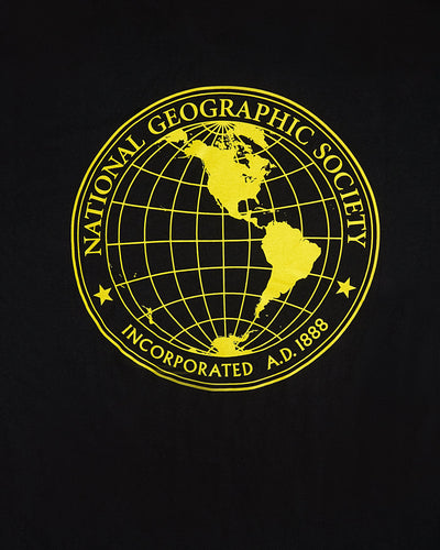 Vans x National Geographic Globe Tee - Black Vans T Shirts