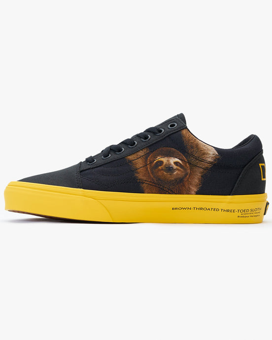 Vans x National Geographic Old Skool - Black / Photo Ark UK 7 VN0A4U3BWK67 Vans Trainers