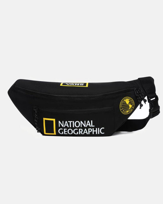 Vans x National Geographic Ward Cross Body Pack - Black / Yellow VN0A2ZXXY23 Vans Bags