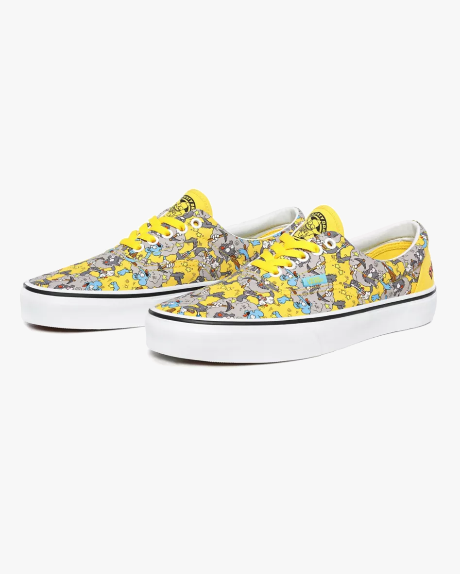 Vans x The Simpsons Era - Itchy & Scratchy UK 7 VN0A4BV41UF17 Vans Trainers