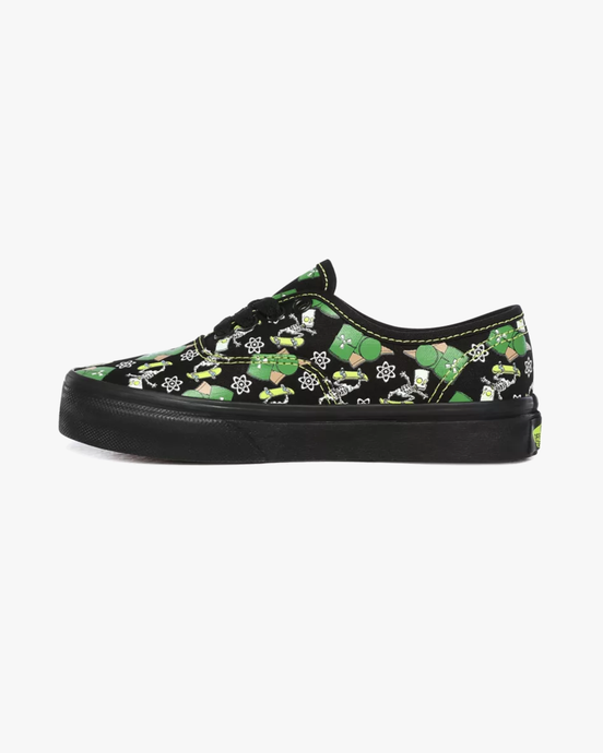 Vans x The Simpsons Kids Authentic - Glow Bart C10 VN0A3UIV0GY1C10 Vans Trainers