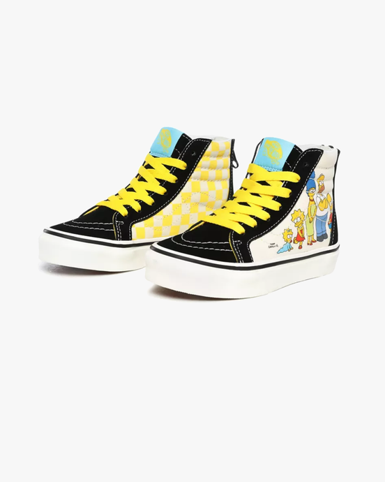 Vans x The Simpsons Kids SK8-Hi Zip - The Simpsons 1987-2020 C10 VN0A4BUX17E1C10 Vans Trainers