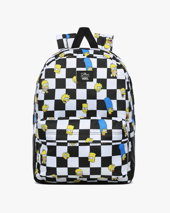 Vans x The Simpsons Old Skool III Backpack - Family VN0A3I6RZZZ1 Vans Bags