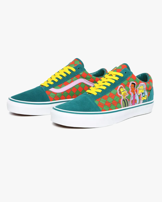 Vans x The Simpsons Old Skool - Moe's UK 7 VN0A4BV521L17 Vans Trainers
