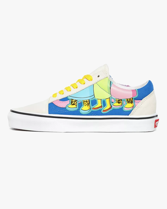 Vans x The Simpsons Old Skool - The Bouviers UK 4 VN0A4BV521M14 Vans Trainers
