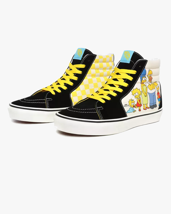 Vans x The Simpsons SK8-Hi - The Simpsons 1987-2020 UK 7 VN0A4BV617E17 Vans Trainers