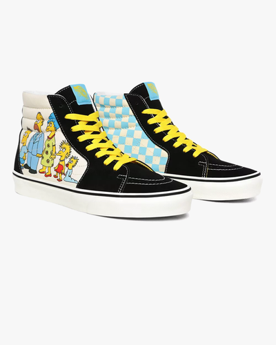 Vans x The Simpsons SK8-Hi - The Simpsons 1987-2020 Vans Trainers