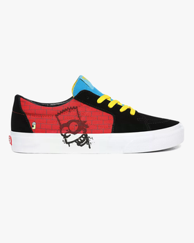 Vans x The Simpsons SK8-Low - El Barto UK 7 VN0A4UUK17A17 Vans Trainers