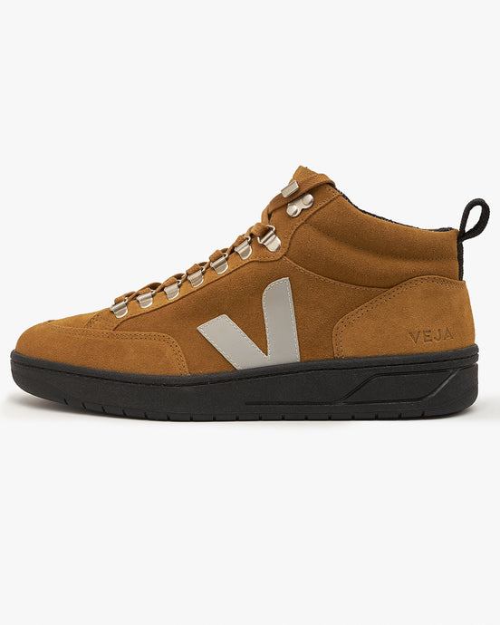 Veja Roraima Suede Sneakers - Tent / Oxford Grey / Black UK 7 QR032381B7 3611820024168 Veja Trainers