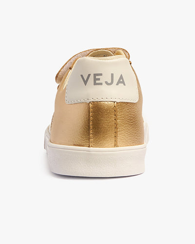 Veja Womens 3-Lock Leather Sneakers - Platine / White Veja Trainers