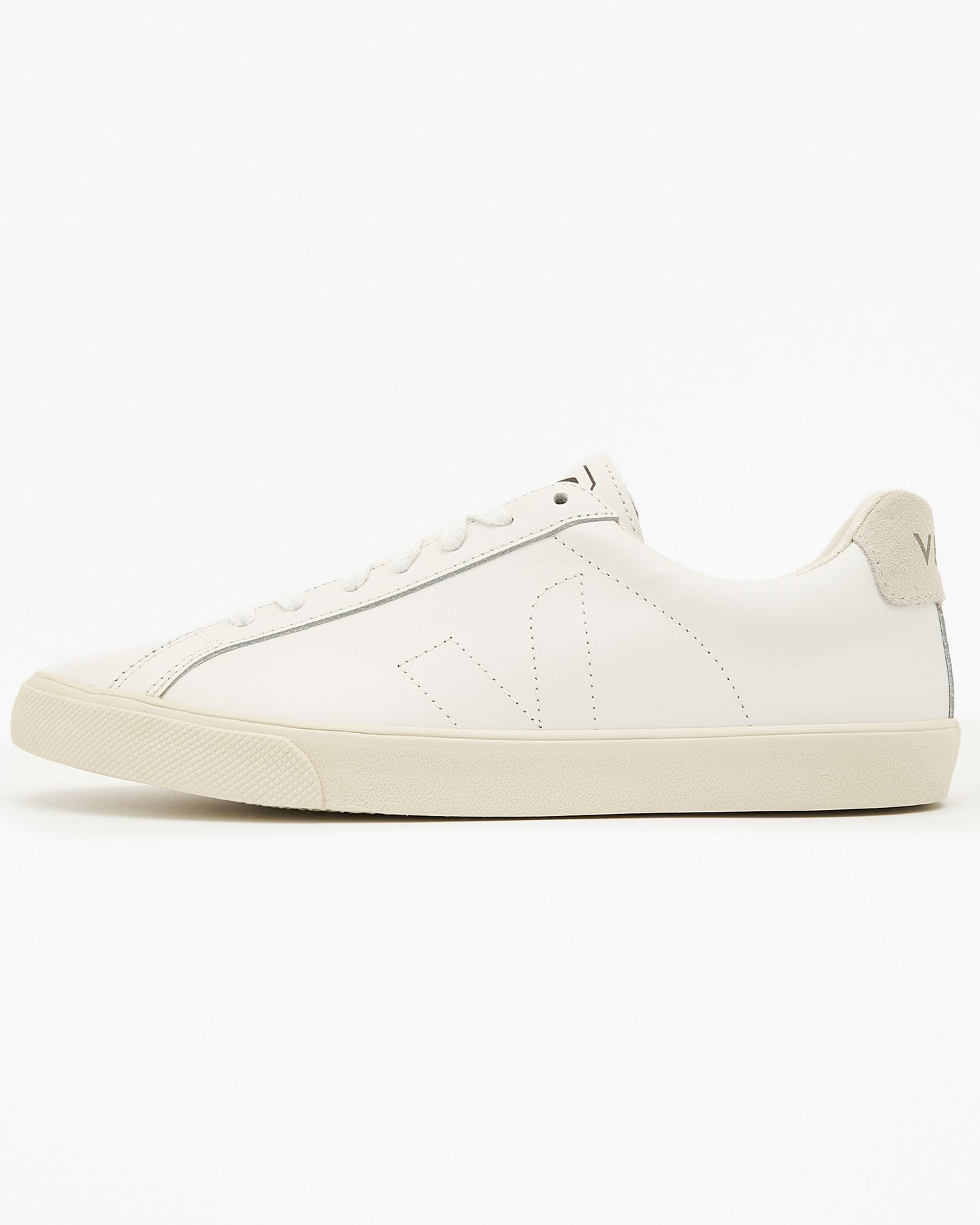 Veja Womens Esplar Leather Sneakers - Extra White UK 4 EAW20014 Veja Trainers