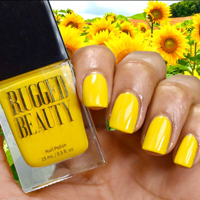 Be As Vibrant As A Summertime Flower with Sunflower Bright Yellow Nail Polish
