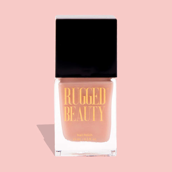 Pink Nail Polish by Rugged Beauty