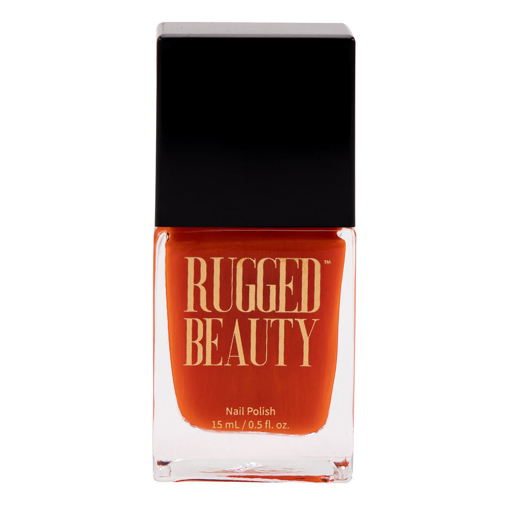 Hunter Orange Nail Polish