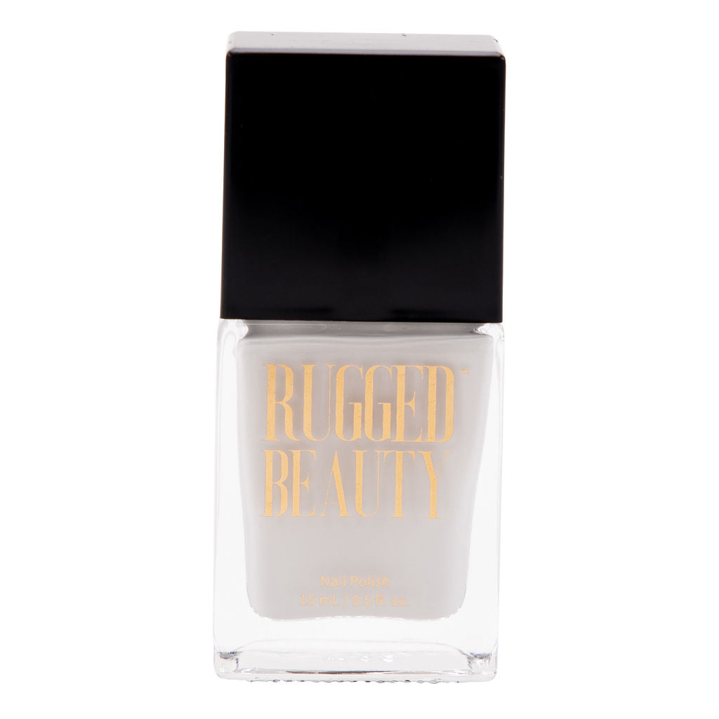Snowball Fight White Nail Polish