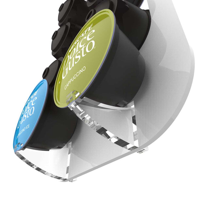 Dolce Gusto Pod Clips, spare clear acrylic clips to suit your Dolce Gusto pod holder